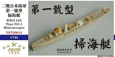 Five Star 1 700 Fs720014 Ijn Type No 1 Minesweeper Resin Kit