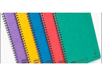High quality A5 Europa notebook (assorted colours) (pack of 4)