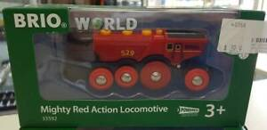 BRIO - Mighty Red Action Locomotive Macquarie Fields Campbelltown Area Preview