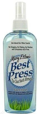 Best Press Ironing Spray 6oz Linen Fresh