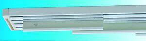 Bastone binario in alluminio bianco per tende a pannelli ebay - Tende a binario ikea ...