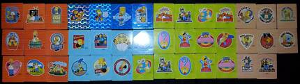Bulk Selection of Simpson Tazos- unpunched MINT CONDITION Glenorchy Glenorchy Area Preview