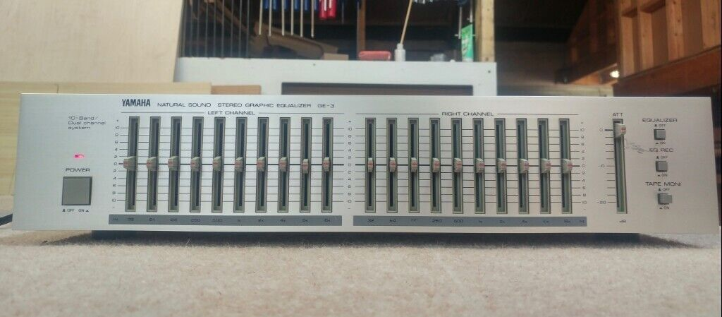 Yamaha GE-3 10 band Graphic Equaliser | in Brighton, East Sussex | Gumtree