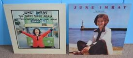 2 x June Imray LPs Records The Torry Quine / The Torry Quine Again