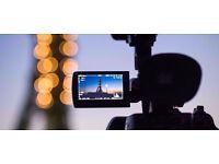 Freelance videographer wedding/event