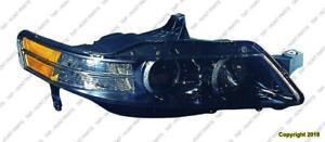 Head Light Passenger Side Type S High Quality Acura TL 2007-2008