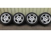 Mercedes S55 AMG Alloy Rims & Tyres