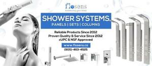 Shower Set, Shower Panels,Thermostatic, Pressure Balanced,Rain Shower Head  8 , 10 12 16 ..24 ,