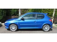 Peugeot 206 HDI GTI Cheap Car not a 205 306 Citroen or Renault Clio