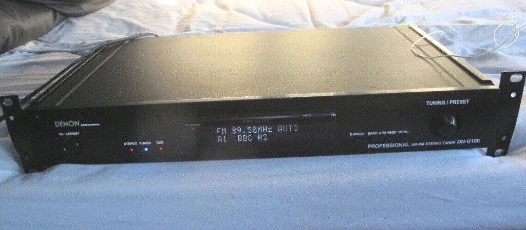 DENON DN-U100 Professional FM/AM   RDS Radio Tuner HiFi   in Witney,  Oxfordshire   Gumtree