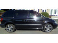 2003 53 CHRYSLER VOYAGER TOURING CRD 2.5 DIESEL / 5 SPD MANUAL / 7 SEATS / CLOTH / SERVICE HISTORY