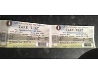***TAKE THAT TICKETS*** x 2 - Seated together