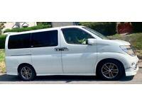 Nissan Elgrande 8 seater DayVan MPV - Autech