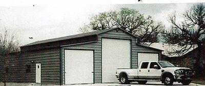 42x41 Steel Garage Storage Building -- Free Delivery Installation
