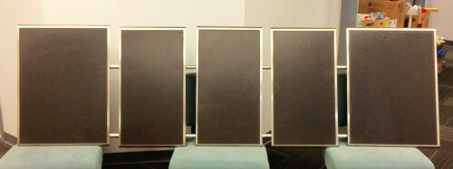 Stainless steel magnetic restaurant menu boards - 5 boards 2 rails -9 feet
