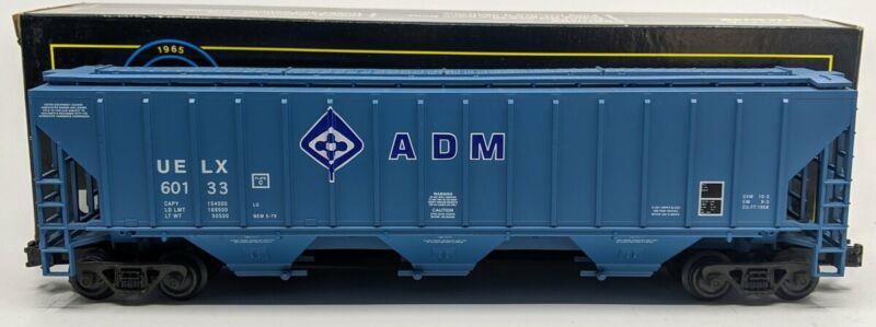 Weaver U3717D O ADM Blue PS-2 Central Discharge Hopper Car #60133 [3Rail] LN/Box