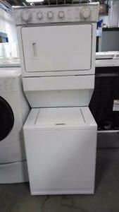 STACKING LAUNDRY CENTRE WASHER DRYER COMBO!! 1 FULL YEAR WARRANTY!! 16665 111 AVE