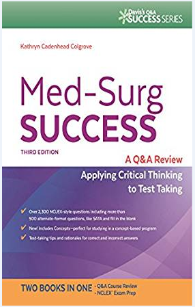 Купить Med-Surg Success Q&A Review Applying Critical Thinking to Test Taking🔥[P-D-F]