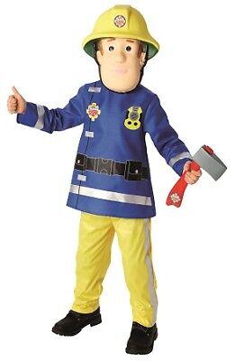 Feuerwehrmann Sam Kostüm Fireman Sam Original Kinderkostüm (Sam Feuerwehrmann Kostüm)