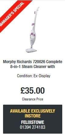Morphy Richards Steam Mop, Display stock