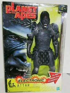 Planet of the Apes Electronic Attar figure new in box Kitchener / Waterloo Kitchener Area image 2