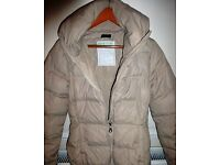 Woman's Benetton jacket with high collar