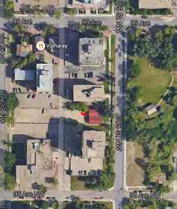 Parking spot available downtown 105 street and 98 ave