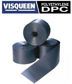 Visqueen Polyethylene Damp Proof Course (DPC) 100mm, 112.5mm, 150mm, 225mm, 300mm, 450mm