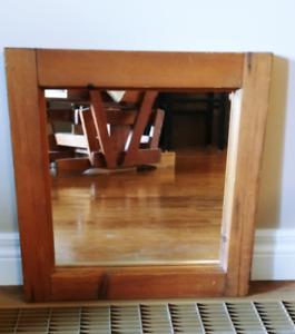Decorative Wood-framed Mirror