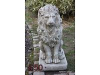 Lion garden ornaments
