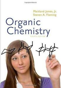 Organic Chemistry by Maitland Jones+ solution manual(hard cover)