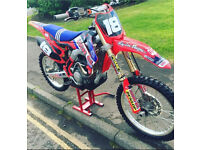 2014 HONDA CRF 250 - proper mint bike