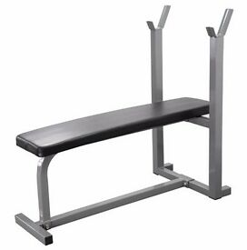 Heavy Duty Flat Weight Lifting Bench Fitness Bench Training Bench UKFit NEW