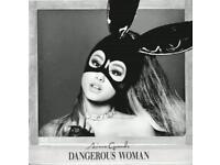 Ariana Grande - Dangerous Woman Album (BRAND NEW & SEALED)