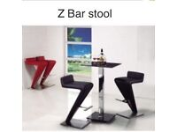 "Bar stool ""Z"" style bar home office stool"