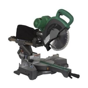 "Hitachi 10"" Sliding Dual Compound Mitre Saw C10FSBP4"