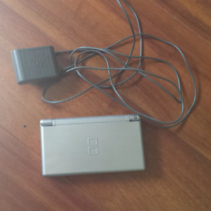 Nintendo DS Lite with charger