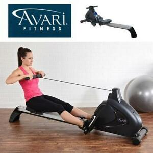 NEW AVARI MAGNETIC ROWING MACHINE A350-700 229499252 PROGRAMMABLE STURDY STEEL ROWER