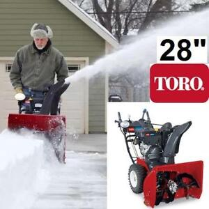 """NEW* TORO GAS SNOW BLOWER 28"""" 38801 147163213 THROWER 265CC 2-STAGE Power Max HD 928 OHXE"""
