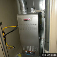 HIGH EFFICIENCY Furnaces & Air Conditioner