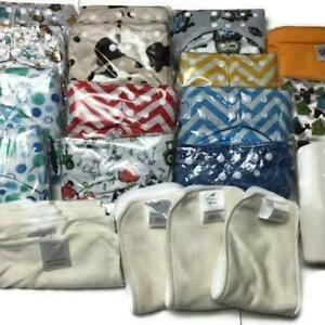 EARTH DAY SALE - PIDDLY-WINX CLOTH DIAPERS - SINGLES, BUNDLES, CLOTH PADS, AND MORE