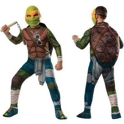 New Nickelodeon Teenage Mutant Ninja Turtles Michelangelo Child Costume Large 8-