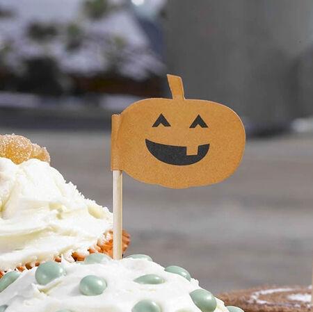 Halloween Cake Cases Picks