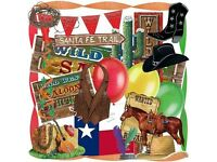 Party Decoration for American Party/Wild West /Mexican