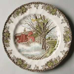 Johnson Brothers - 'The Friendly Village' Dinner Plates 10-1/2""