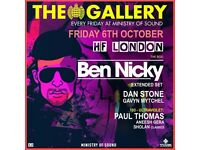 The Gallery: Ben Nicky Pres. HF London
