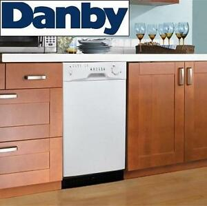 NEW DANBY BUILT IN DISHWASHER - 125315396 - W/ STAINLESS STEEL TUB DISHWASHERS DISHES CLEANING KITCHEN APPLIANCES WAS...