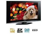 "Panasonic 37"" inch 1080p Full HD LCD TV with Built-in Freeview 2 x HDMI not 32 39 40 42 Will Deliver"