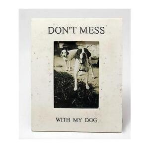 Great Deal! Don't Mess with My Dog Picture Frame