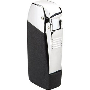 VECTOR VULCAN TRIPLE TORCH CIGAR LIGHTER BLACK KRACKLE
